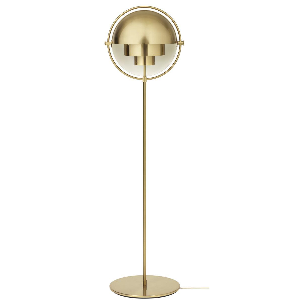 Gubi Multi-Lite Floor Lamp - Brass