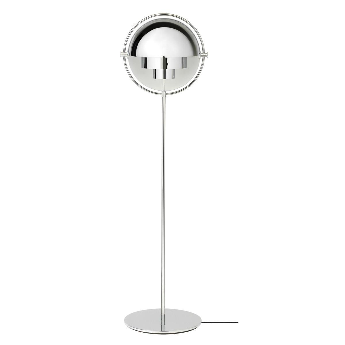 Gubi Multi-Lite Floor Lamp - Chrome