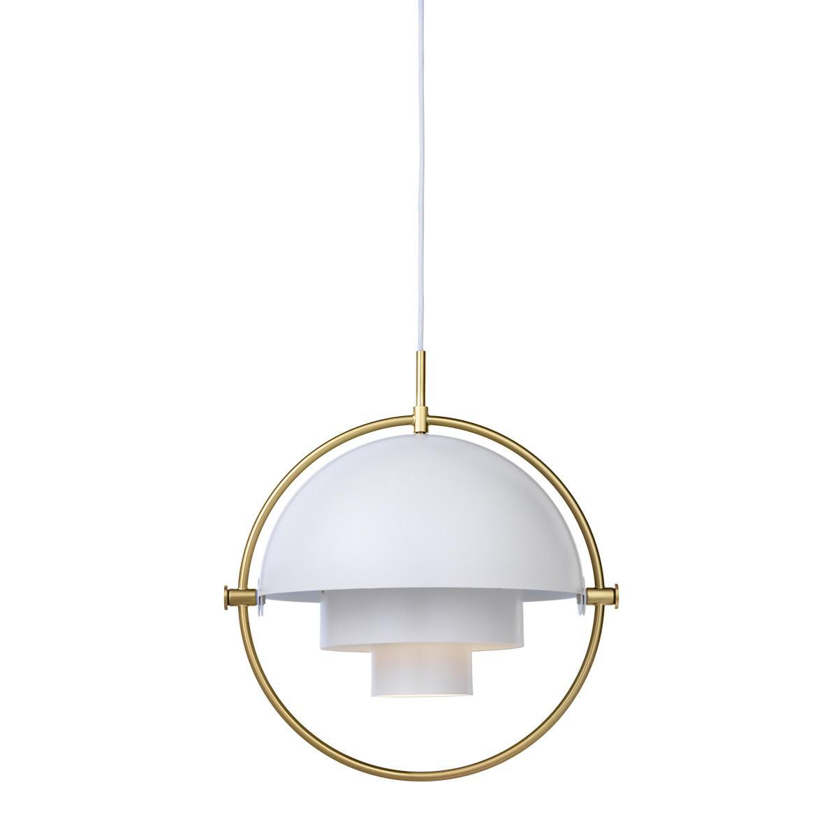 Gubi Multi-Lite Pendant Light - Small - Brass