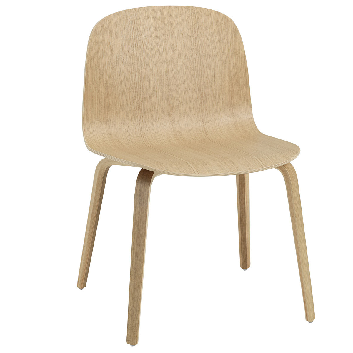 Muuto Visu Wide Chair - Wood Base