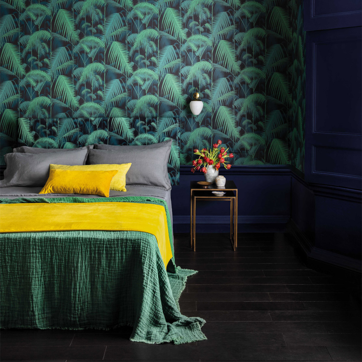 Cole and Son Palm Jungle Wallpaper - Contemporary Restyled