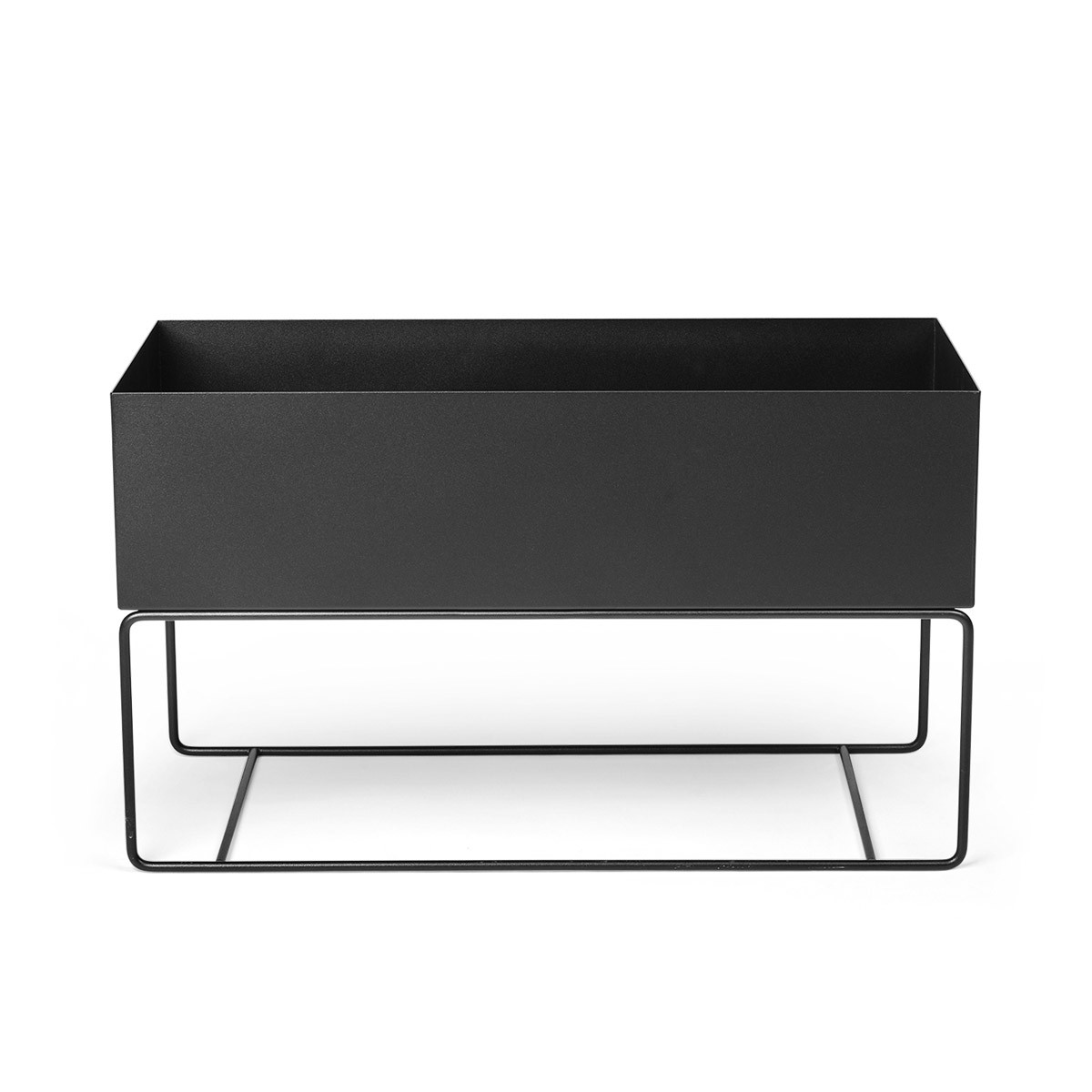Ferm Living Plant Box - Large-Black