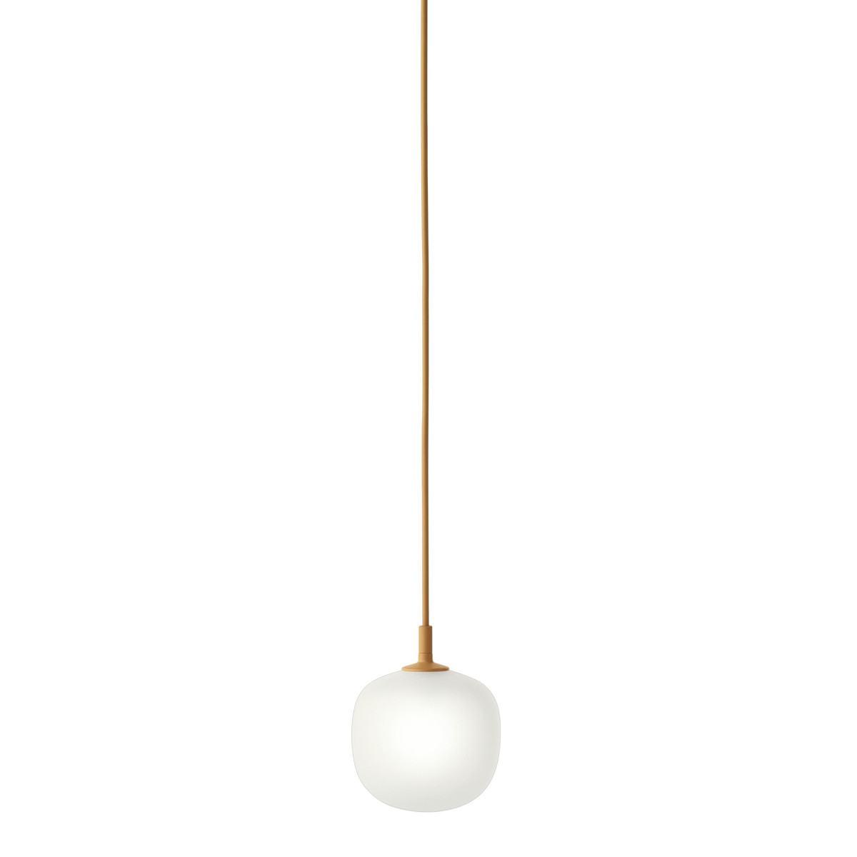 Muuto Rime Pendant Light-Orange-12cm