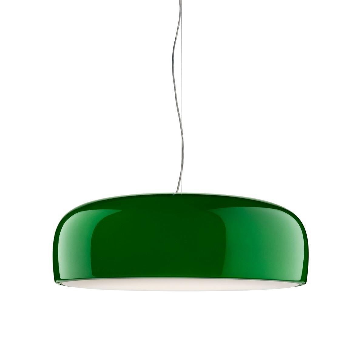 Flos Smithfield Suspension Lamp-Glossy Green-E27