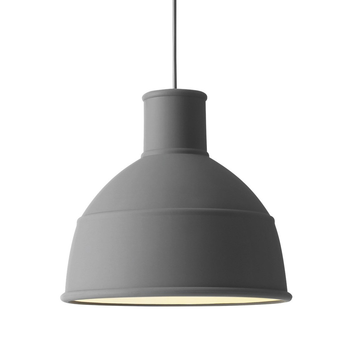 Muuto Unfold Pendant Light-Dark Grey
