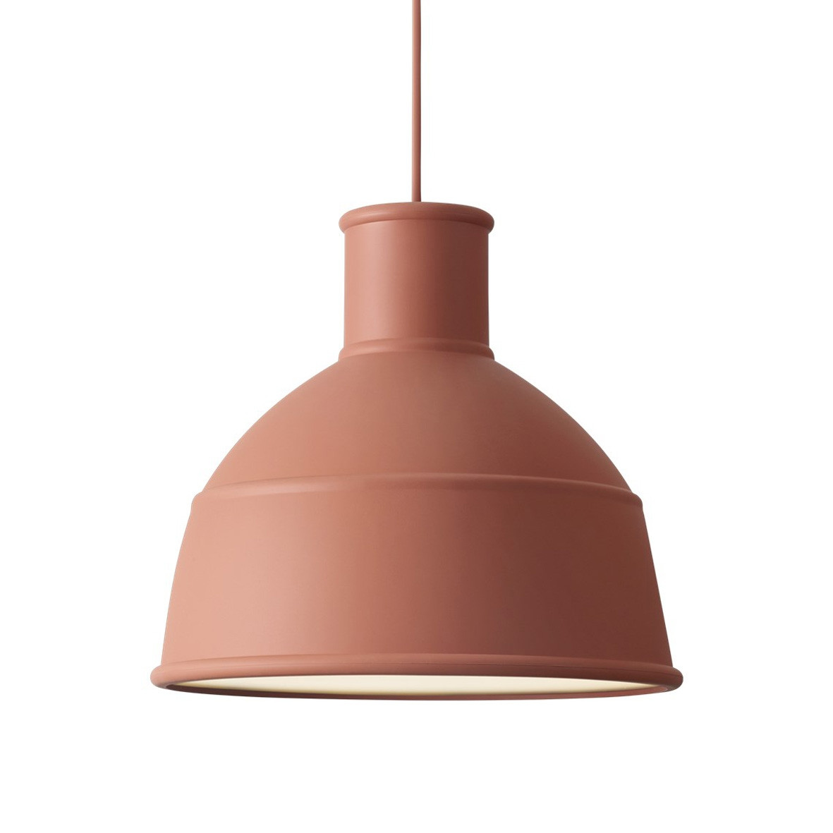Muuto Unfold Pendant Light-Terracotta