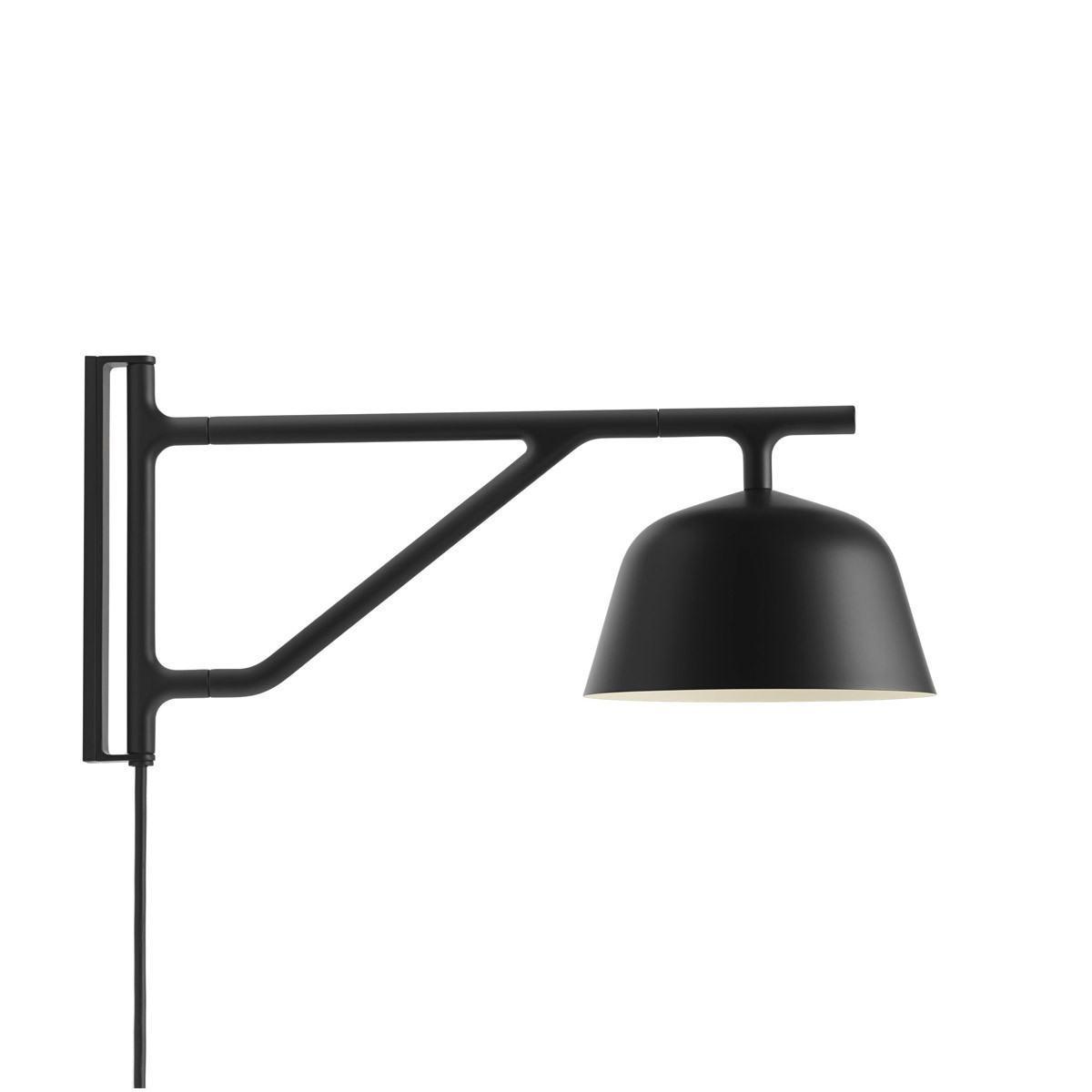 Muuto Ambit Wall Lamp-Black