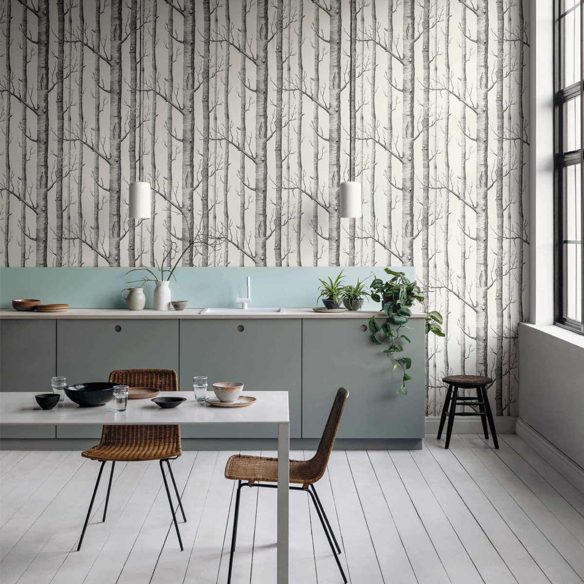 Cole and Son Woods Wallpaper - Icons | beut.co.uk