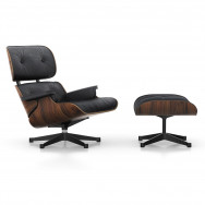 Vitra Eames Lounge Chair and Ottoman - Santos Palisander