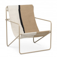 Ferm Living Desert Lounge Chair - Soil-Cashmere