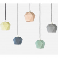 Gant K1 Pastel Pendant Light Triangle