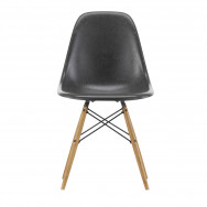 Vitra Eames Fiberglass Side Chair DSW - Wood and Wire Base