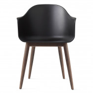 Menu Harbour Unupholstered Dining Chair - Wood Base