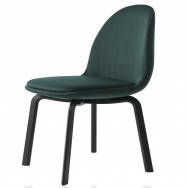 Fritz Hansen Sammen Chair - Black Lacquered Legs