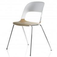 Fritz Hansen Pair BH20 Chair - Chromed Base