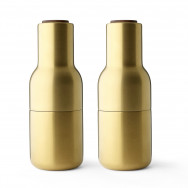 Menu Bottle Salt And Pepper Grinder - Pair (Metal)