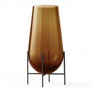 Menu Échasse Vase - Bronzed Brass/Amber