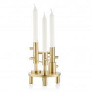 Fritz Hansen Brass Candle Holder-Large