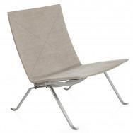Fritz Hansen Pk22 Easy Chair, Canvas