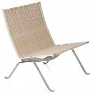 Fritz Hansen Pk22 Easy Chair, Wicker