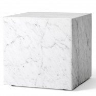 Menu Plinth Cubic Marble Table