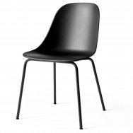 Menu Unupholstered Harbour Dining Side Chair - Steel Base