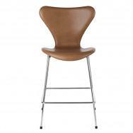Fritz Hansen Series 7 Front Upholstered Stool