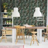 Coordonne Floral Tapestry Wallpaper