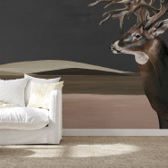 Coordonne Great Deer Mural Wallpaper
