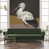 Coordonne Stork Mother Mural Wallpaper