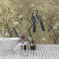 Coordonne Edo Metallics Mural Wallpaper