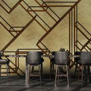 Coordonne L-Geometric Metallics Mural Wallpaper