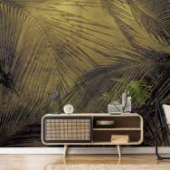 Coordonne Palms Metallics Mural Wallpaper