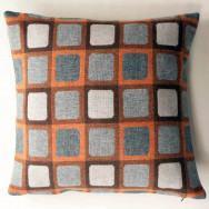 Chalk Wovens Full Squircle Cushion - Orange