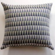 Chalk Wovens Prism Cushion - Grey