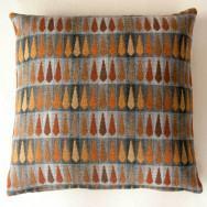 Chalk Wovens Fern Cushion - Copper