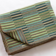 Chalk Wovens Reeds Throw - Jade