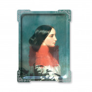 ibride Galerie De Portraits Large Reactangular Tray- IDA 1