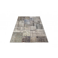 Massimo Rugs 170 x 240 cm Grey Vintage Rug - Grey - Multi Color