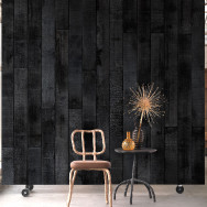 NLXL Materials Wallpaper by Maarten Baas - Burnt Wood