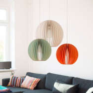 Iumi Aion Wood Pendant Light