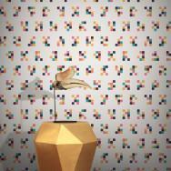 Feathr Alphabet Wallpaper by Florent Bodart