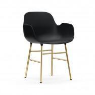 Normann Copenhagen Form Armchair - Metal