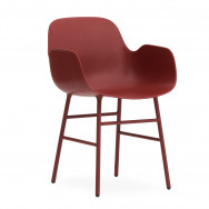Normann Copenhagen Form Armchair - Steel