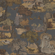 Cole and Son Versailles Grand Fabric - 100% Cotton