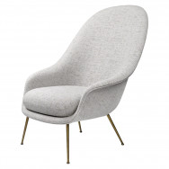 Gubi Bat Lounge Chair - Conic Base