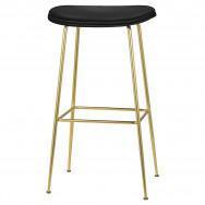 Gubi Beetle Bar Stool - Fully Upholstered - 75 cm