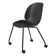 Gubi Beetle Meeting Chair - 4 Legs W. Castors