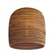 Graypants Scraplight Bell Pendant Lamp 10 inch