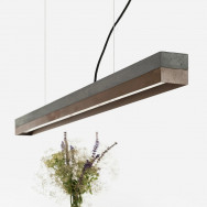 GANTlights C Concrete Pendant Light - Corten Steel (Various Sizes)